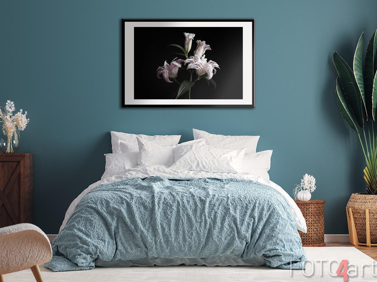 Poster met Bloemen