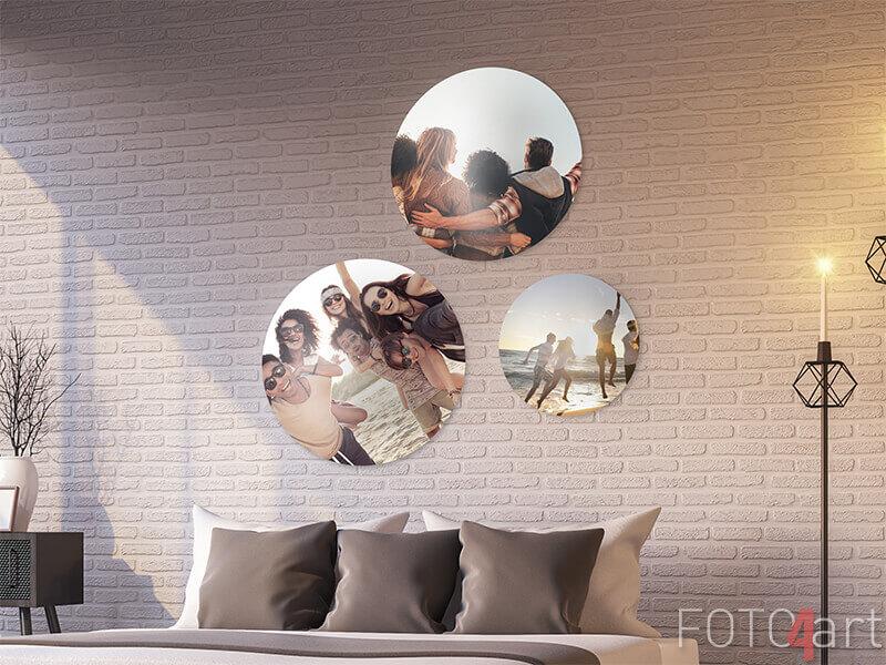 Uw foto op muurstickers