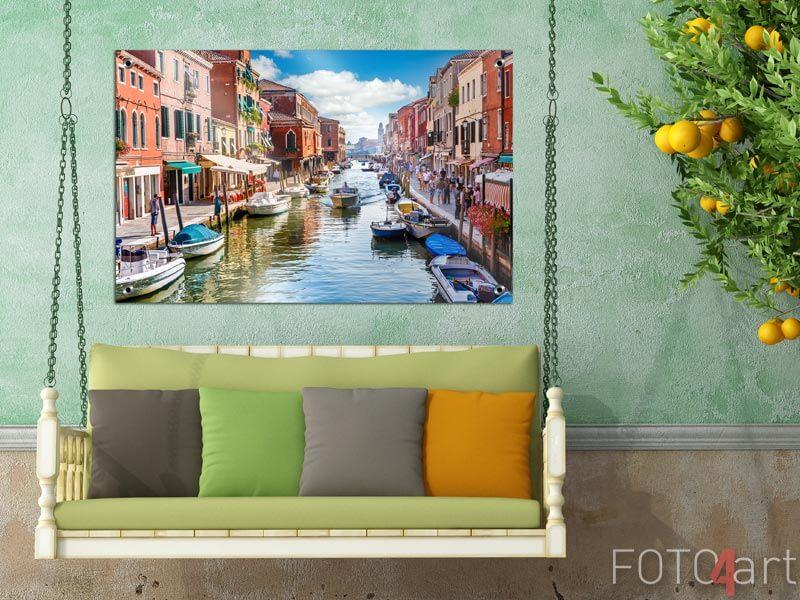 Tuinposter - Eiland murano in Venetië