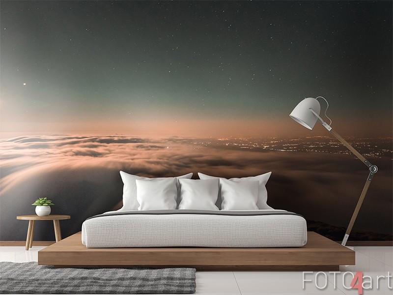Fotobehang met wolken