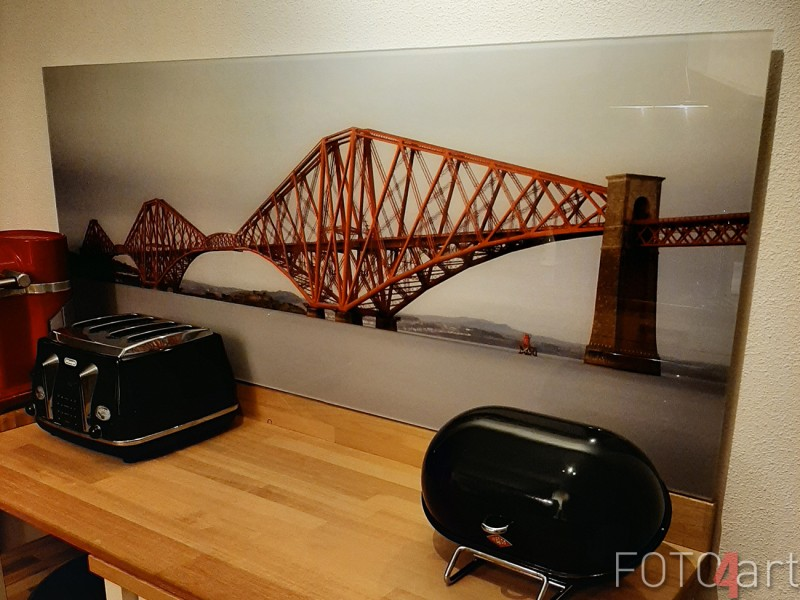 Foto Forth Rail Bridge op Plexiglas