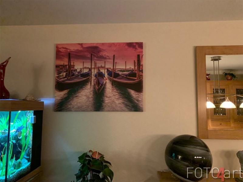 Foto op Canvas Gondolas Avondrood