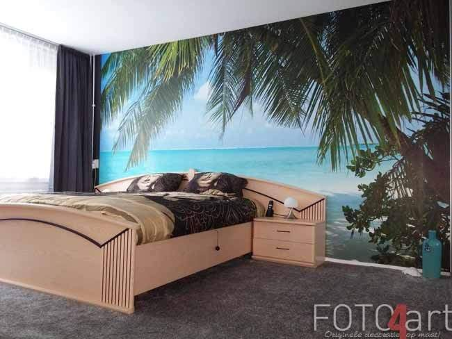 Geweldig Fotobehang Tropical strand
