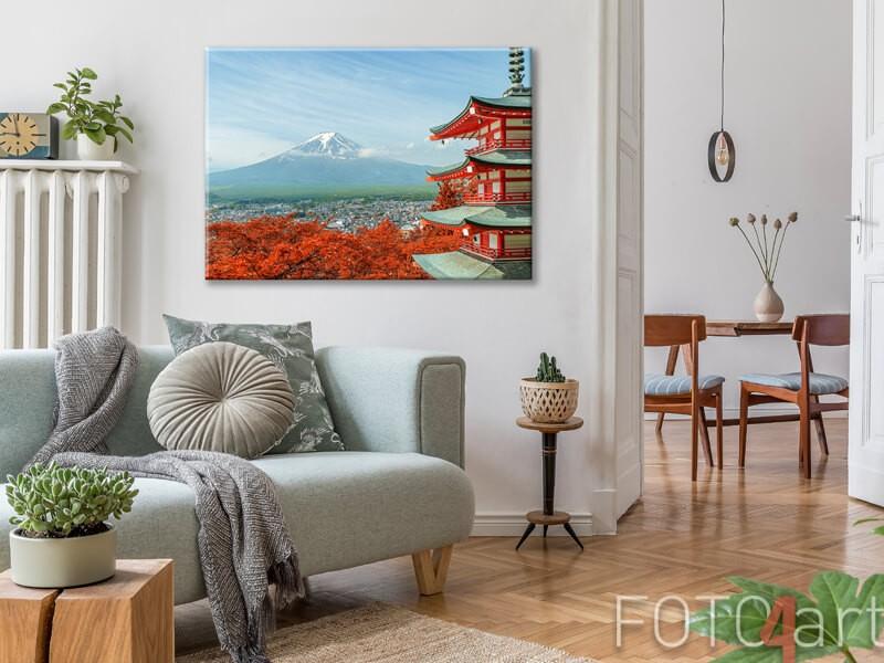Canvas Mount Fuji
