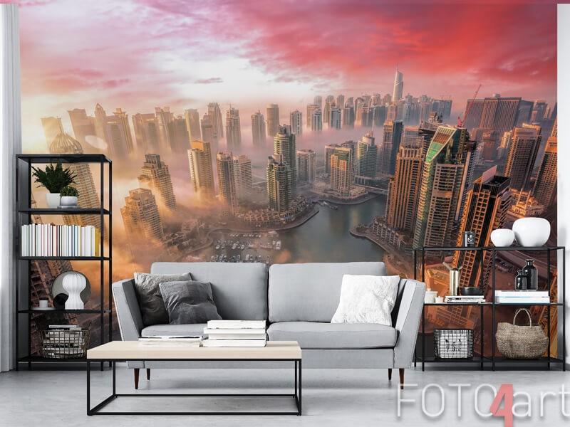 Dubai op fotobehang