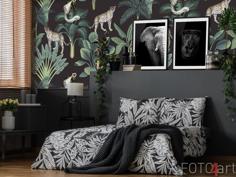 Fotobehang van een luipaard