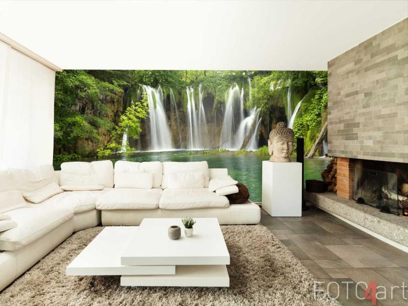 Fotobehang Watervallen