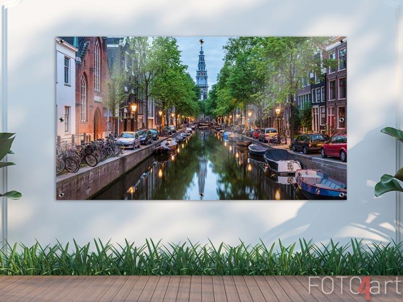 Tuinposter Amsterdam