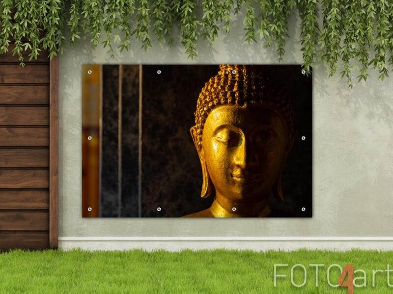 Tuinposter van een Boeddha