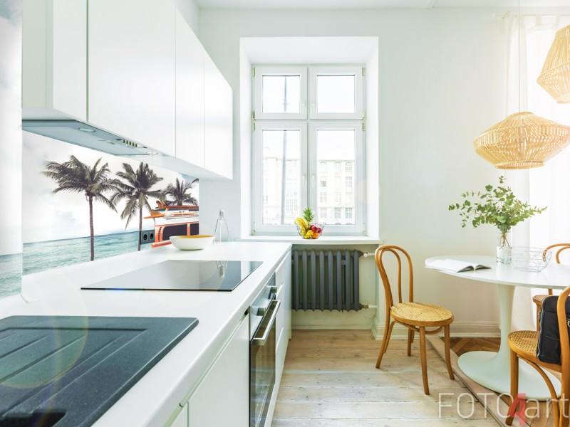 Zonnige Plexiglazen Achterwand voor de Keuken