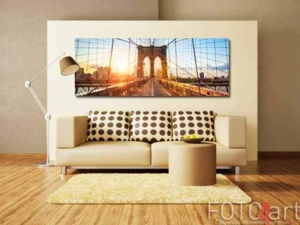 Panoramafoto op Plexiglas New York